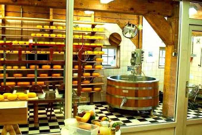 Музей сыра в Алкмааре